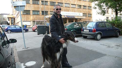 Damjan Cavazza s psom