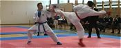 Člani v boju za karatejske državne naslove